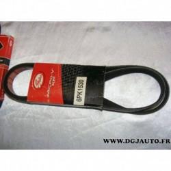 Courroie accessoire 6PK1530 pour ford fiesta 3 escort 5 orion 2 kia cerato opel astra F corsa B tigra vectra B