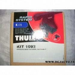Kit pieds fixation barre de toit KIT1092 pour mercedes classe CLK W208
