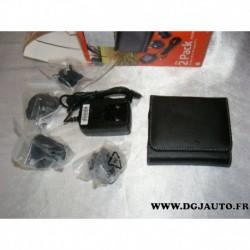 """Pack accessoires GPS Mio moov 100 et 200 range 3.5"""" pochette transport + chargeur prise secteur 4 fiches différentes"""