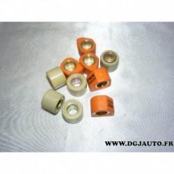 Lot 10 galets de variateur dont 5 x 12.5gr TWX pour suzuki piaggio