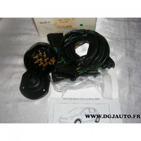 faisceau electrique attelage attache remorque 7 poles specifique to088bb pour toyota yaris. Black Bedroom Furniture Sets. Home Design Ideas