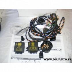 Faisceau electrique attelage attache remorque 7 poles specifique DA010BB pour dacia lodgy et dokker 2013