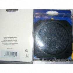 Paire de grille haut parleur enceinte 100mm diametre adaptable 33.67NO