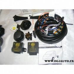 Faisceau electrique attelage attache remorque 7 poles multiplexe FI023BB pour fiat ducato citroen jumper peugeot boxer chassis p