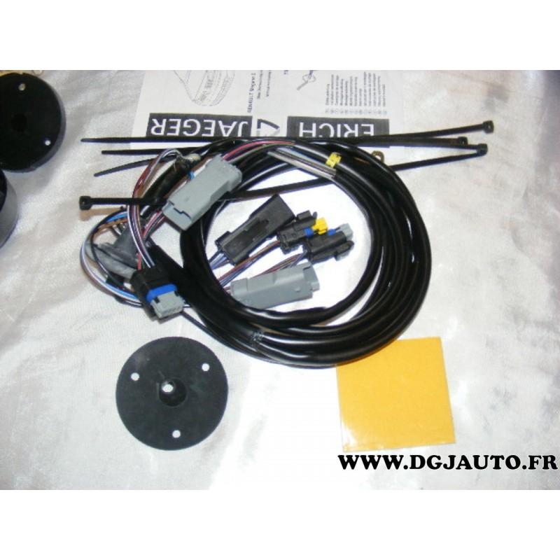 faisceau electrique attelage attache remorque 7 poles specifique sans la prise 8778 pour renault. Black Bedroom Furniture Sets. Home Design Ideas