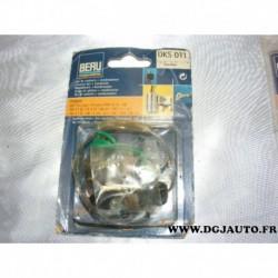 Jeu de contact vis platinée rupteur + condensateur allumage allumeur ducellier DKS011 pour peugeot 104 1.1 1.4 GL GR