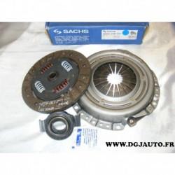 Kit embrayage disque + mecanisme + butée 3000330001 pour ford escort 3 4 5 6 7 fiesta 1 2 3 4 orion 1 2 1.1 1.3 1.4 essence 1.6D