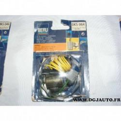 Jeu de contact vis platinée rupteur + condensateur allumage allumeur ducellier DKS064 pour peugeot 204 304 citroen CX talbot sim