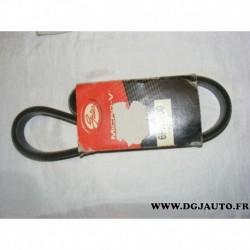 Courroie accessoire 6PK1600 pour audi A1 peugeot 406 605 renault espace 3 laguna safrane seat alhambra 3 ibiza 4 chrysler 300M P