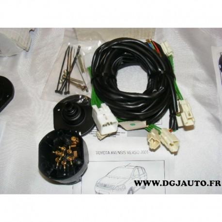 faisceau electrique attelage attache remorque 7 poles specifique to094bb pour toyota avensis. Black Bedroom Furniture Sets. Home Design Ideas