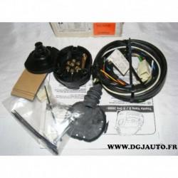 Faisceau electrique attelage attache remorque 7 poles specifique 043498 pour toyota yaris partir 2006