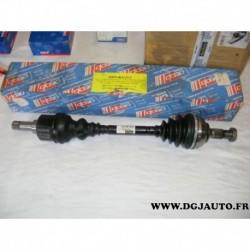 Cardan transmission avant gauche 24/25 cannelures 3188450 pour peugeot 306 405 1.6 1.8 1.9 1.9D
