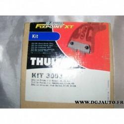 Kit pieds fixation barre de toit KIT3003 pour skoda fabia partir 2000 octavia partir 1999