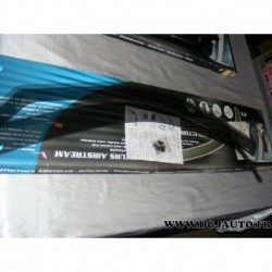 Paire deflecteur air vitre portieres avant 202902 pour suzuki grand vitara 5 portes partir 2005 (1 avec 2 rayures)