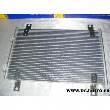 Condenseur radiateur climatisation 818018 pour citroen jumper peugeot boxer fiat ducato de 2002 à 2006