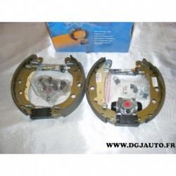 Kit frein arriere 228x40mm montage bendix 685507 pour renault kangoo nissan kubistar
