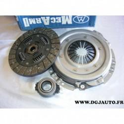 Kit embrayage disque + mecanisme + butée MK9887 pour citroen AX ZX peugeot 106 rover metro 114 1.4D 1.4 D diesel