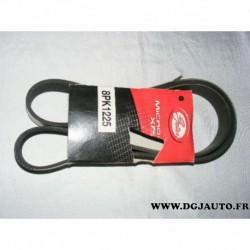 Courroie accessoire 8PK1225 pour mazda 3 5 6 2.0 MZCD CD DITD