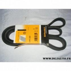 Courroie accessoire 6PK2260 pour mercedes classe C W203 R129 sprinter W901 W905 W906 mazda 6 lexus SC430