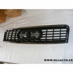 Calandre grille radiateur face avant AD0202001 pour audi A4 8E5 de 2000 à 2004 contour chrome
