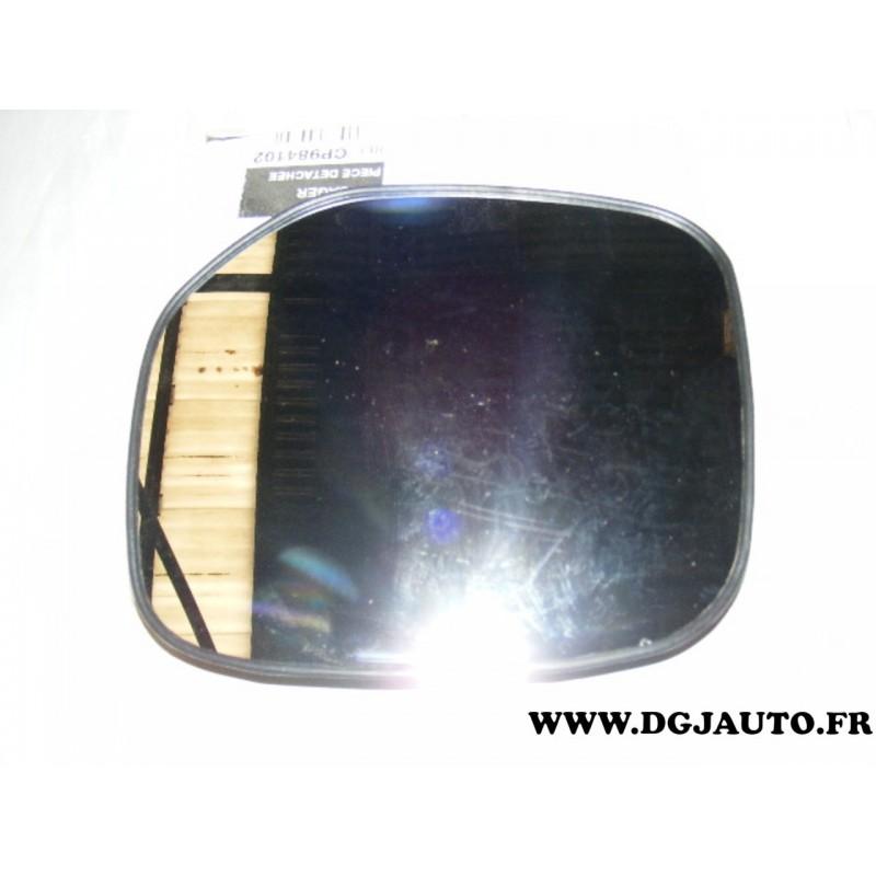 glace miroir vitre retroviseur avant droite cp984102 pour. Black Bedroom Furniture Sets. Home Design Ideas