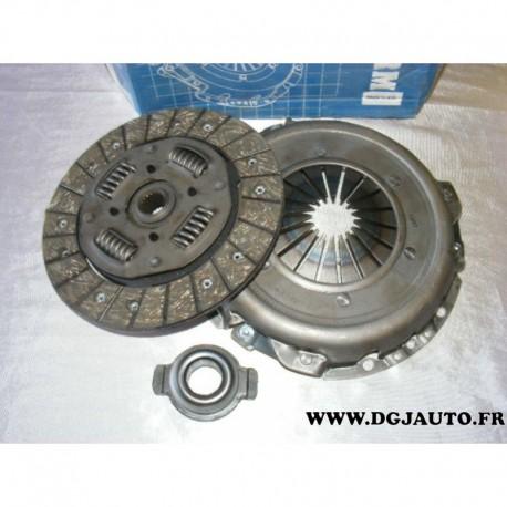 Kit embrayage disque + mecanisme + butée MK9246 pour citroen saxo xsara peugeot 106 206 306 1.6 essence dont VTS