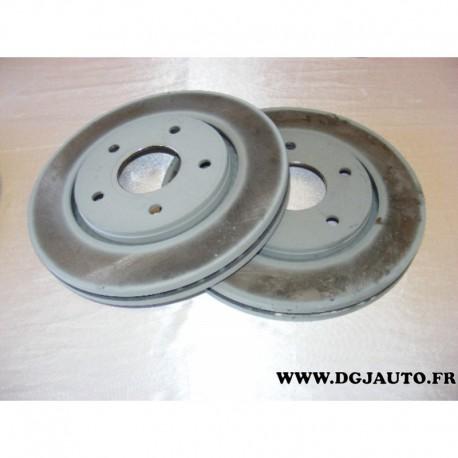 paire disque de frein avant 302mm diametre ventil 68032944ab pour fiat freemont dodge journey. Black Bedroom Furniture Sets. Home Design Ideas