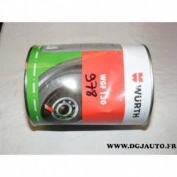 Pot 1kg graisse lithium lubrification WGF130 wurth 0893530