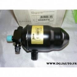 Filtre bouteille deshydrateur circuit climatisation 508872 pour peugeot 406