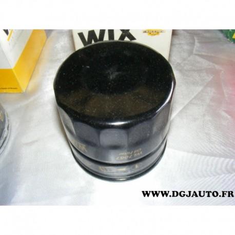 filtre huile wl7067 pour alfa romeo 75 90 145 146 155 164 alfetta giulietta gtv rz sz spider. Black Bedroom Furniture Sets. Home Design Ideas
