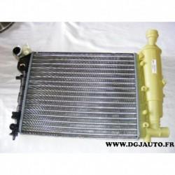 Radiateur refroidissement moteur avec vase expansion 730372 pour peugeot 106 essence 1.0 1.1 1.4
