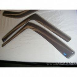 Paire deflecteur air vitre portieres avant 200128 pour renault scenic 2 (sans accessoire)