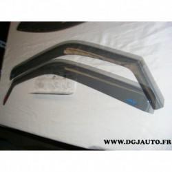 Paire deflecteur air vitre portieres avant 643930 pour ford fiesta 4 de 1996 à 2001 mazda 121 3 portes (sans accessoire)