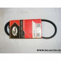 Courroie accessoire 6PK818 pour seat cordoba 4 ibiza 3 4 skoda fabia roomster volkswagen polo 4 fox TDI