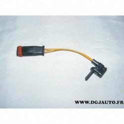 Contacteur temoin usure de frein GIC198 pour mercedes classe E W211 SLK W171