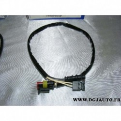 Cable faisceau fiche connecteur adaptateur branchement sonde lambda 13839