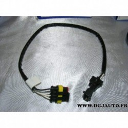 Cable faisceau fiche connecteur adaptateur branchement sonde lambda 13859