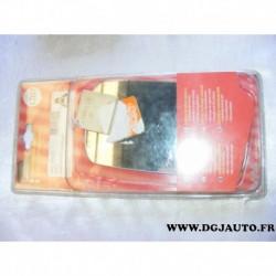 Glace miroir vitre retroviseur 537613 pour ford fiesta 3 partir 1989 à 1993 escort orion de 1990 à 1995