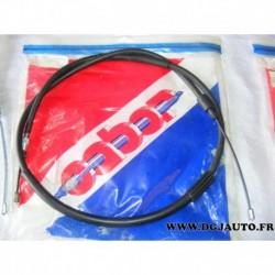 Cable de frein à main 104563 pour citroen ZX avec frein à disques arriere