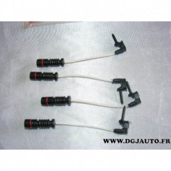 Kit 4 contacteurs temoin usure de frein FWI227 pour mercedes 190 W201 CLK W208 E W124 W210 S W140 CL W215 W126 R129 C107