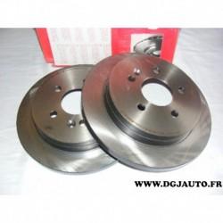 Paire disque de frein arriere plein 285mm diametre 08793611 pour mercedes classe ML W163 ML230 ML270 ML320 ML350 ML430