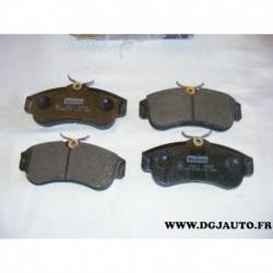Jeux 4 plaquettes de frein avant montage lucas NFP604 pour nissan almera N16E primera P10 P11