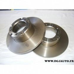 Paire disque de frein 280mm diametre plein 08395920 pour mercedes transporter 207 208 209 210 307 308 309 310 407 408 409 410