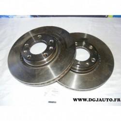 Paire disque de frein avant 283mm diametre ventilé 09961210 pour citroen XM peugeot 407 605