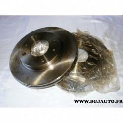 Paire disque de frein avant 257mm diametre ventilé 186823 pour hyundai coupé elantra lantra sonata 3
