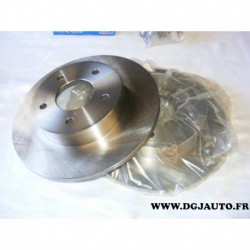 Paire disque de frein arriere 278mm diametre plein DDF1383 pour nissan almera tino V10 primera P12 W12