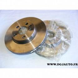 Paire disque de frein avant ventilé 257mm diametre NDF4683 pour citroen evasion jumpy peugeot 806 expert fiat scudo ulysse