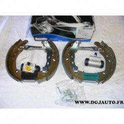 Kit frein arriere prémonté 203x38mm montage AP 381490B pour renault clio 3 modus grand modus nissan micra MK3 note