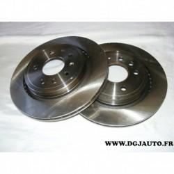 Paire disque de frein ventilé 292mm diametre 09950511 pour fiat croma 2 opel signum vectra C saab 93 9-3