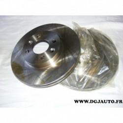 Paire disque de frein avant ventilé 262mm diametre 21321 pour renault laguna safrane megane 1 scenic 1